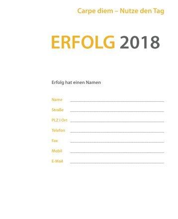 ERFOLG 2018