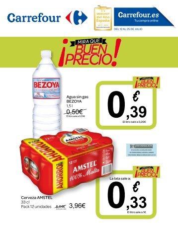 Folleto Carrefour ¡mira que buen precio! del 12 al 25 de Julio 2017