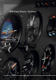 HK36 Super Dimona - Factsheet - Diamond Aircraft UK