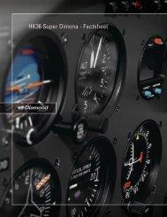 HK36 Super Dimona - Factsheet - Great Lakes Diamond Aircraft ...