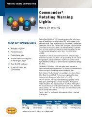 heavy duty warning lights - Procon Systems Inc.