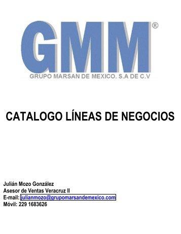 Catalogo Lineas de Negocios GMM (Julian)