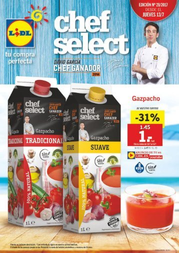 Folleto Lidl del 13 al 19 de Julio 2017