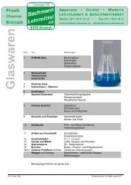 Chemie Laborgeräte/Glaswaren