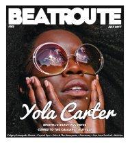 BeatRoute Magazine Alberta print e-edition - July 2017