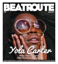 BeatRoute Magazine Alberta print e-edition - July 2017