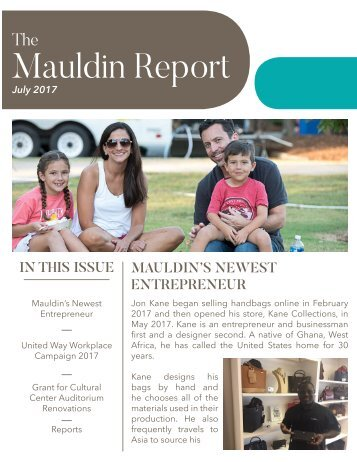 Mauldin Report | July 2017