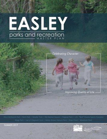 170707_Easley Parks + Rec Master Plan_Final Plan