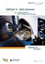 SoftCap® A – SpO2 Sensoren