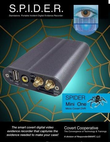 SPIDER COVERT DVR  RBL