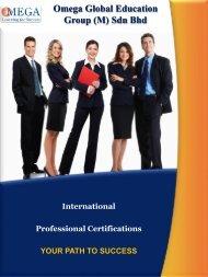 Brochure @ Professional Certifications