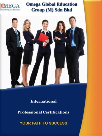 Brochure @ Professional Certifications