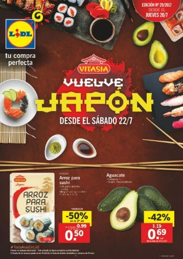 Folleto Lidl del 20 al 26 de Julio 2017