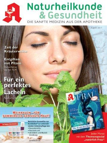 """Leseprobe """"Naturheilkunde & Gesundheit"""" August 2017"""