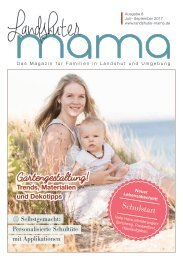 Landshuter Mama Ausgabe 8