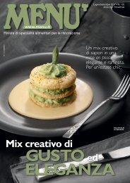 MENU n.102 - Luglio/Settembre 2017