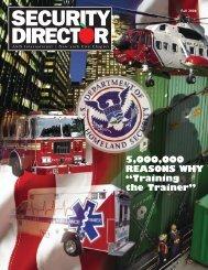 SECURITY Fall 2006 DIRECTOR - ASIS International New York City ...