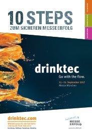 drinktec 2017 // 10 Schritte zum sicheren Messeerfolg