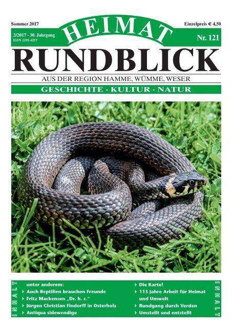 Heimat-Rundblick Nr. 121, Sommer 2017