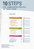 drinktec 2017 // 10 Steps for guaranteed success at trade fairs  - Page 2