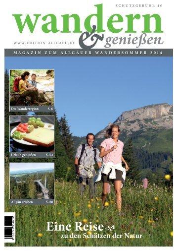 Wandern&Genießen 2014