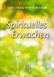 Spirituelles Erwachen (Purucker) - Leseprobe