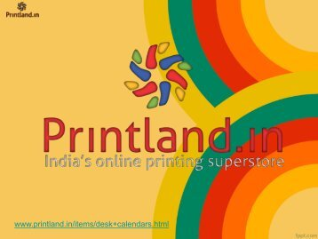 Desk Calendars - Buy Table Calendar Online in India | PrintLand.in