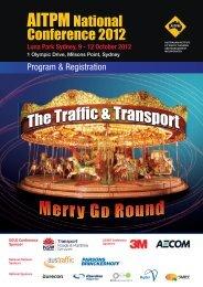 12 October 2012 - Australian Institute of Traffic Management and ...
