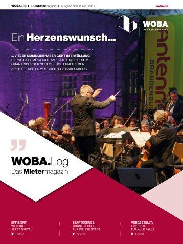 WOBA.Log - Mai 2017 - Ausgabe 3 - WEB