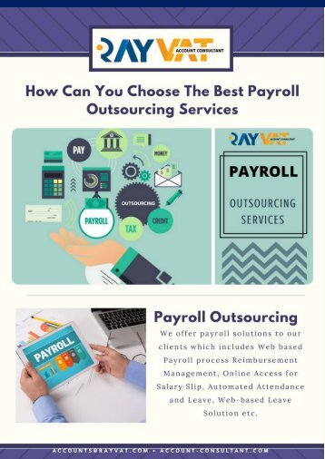 How Can You Choose The Best Payroll Outsourcing Services?