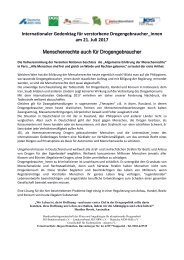 Internationaler Gedenktag für verstorbene Drogengebraucher final + Flyer