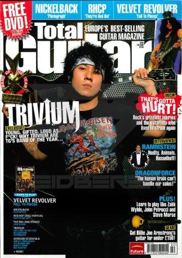 2006.02.хх - Total Guitar_rus