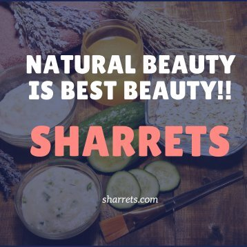 Naturl Beauty is Pure Beauty Sharrets skincare and Beauty products