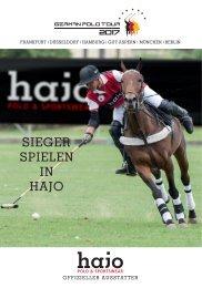 Sieger spielen in hajo - Die German Polo Tour 2017