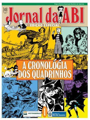 Jornal da ABI Especial - A Cronologia dos Quadrinhos 1