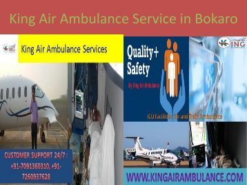 King Air Ambulance Service in Bokaro