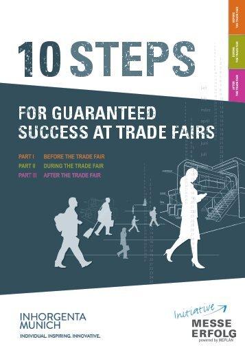 INHORGENTA MUNICH 2018 // 10 steps for guaranteed success at trade fairs