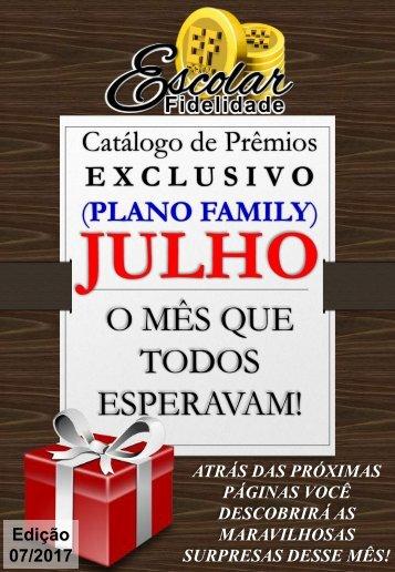 Catálogo Escolar Fidelidade (Plano Family) - Julho 2017