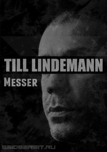Till Lindemann - Messer_rus