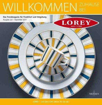 Trendmagazin für Frankfurt und Umgebung Ausgabe Juli-September 2017