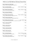 WDC AL Luna Park Ballroom Dancing Championship - wdcalaustralia - Page 4