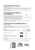 KitchenAid ZSB 1801 AA - ZSB 1801 AA NO (F100922) Istruzioni per l'Uso - Page 4