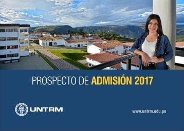 PROSPECTO UNTRM 2017-II