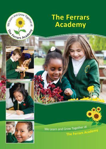 Ferrars Academy School Prospectus 2017