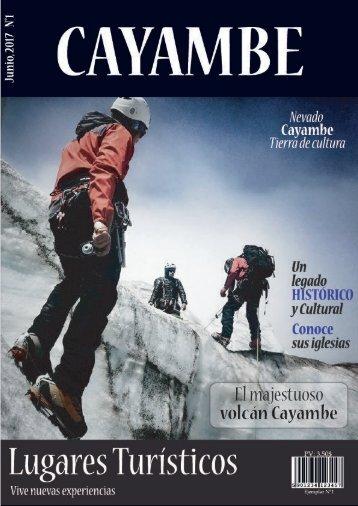 Revista Cayambe - Lugares Turísticos