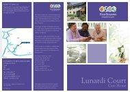 Lunardi Court Brochure - Four Seasons Health Care