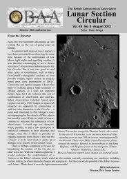 Vol 49, No 8, Aug 2012 - Lunar Section