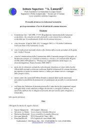 A. Lunardi - Istituto di Istruzione Superiore Antonietti