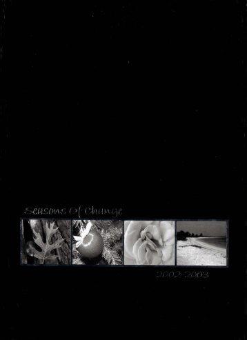 Georgia-Cumberland Academy - Fountain Reveries - 2003