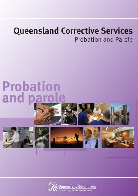 Probation and parole - Queensland Corrective Services